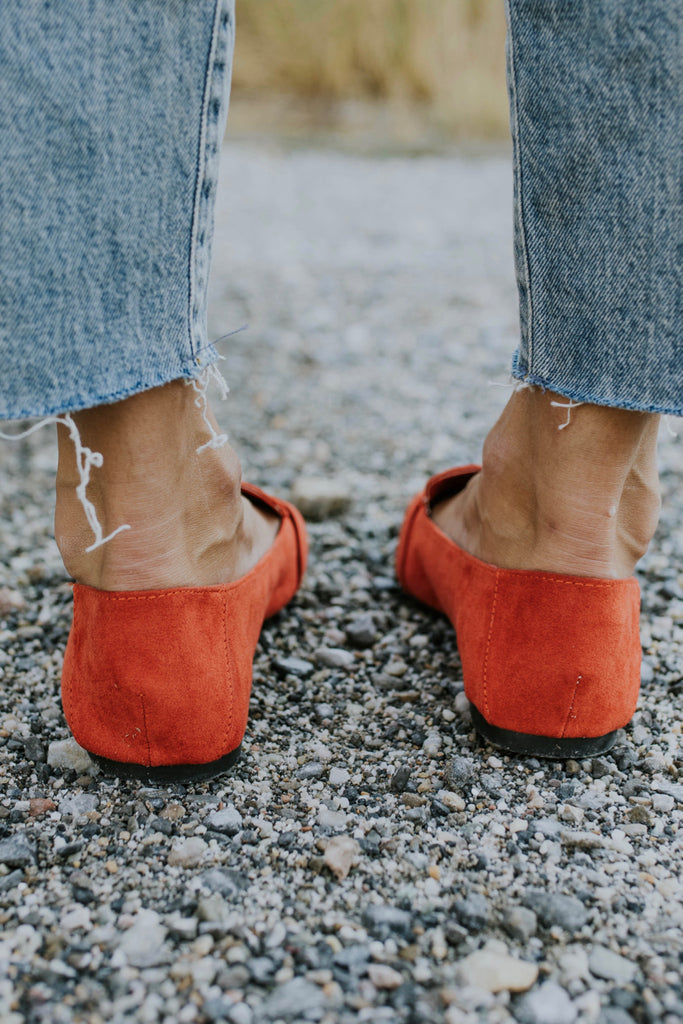 Blood Orange Flats | ROOLEE