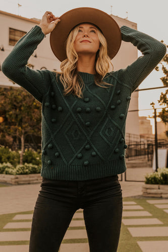 Warm Knit Fall Sweater for Women | ROOLEE