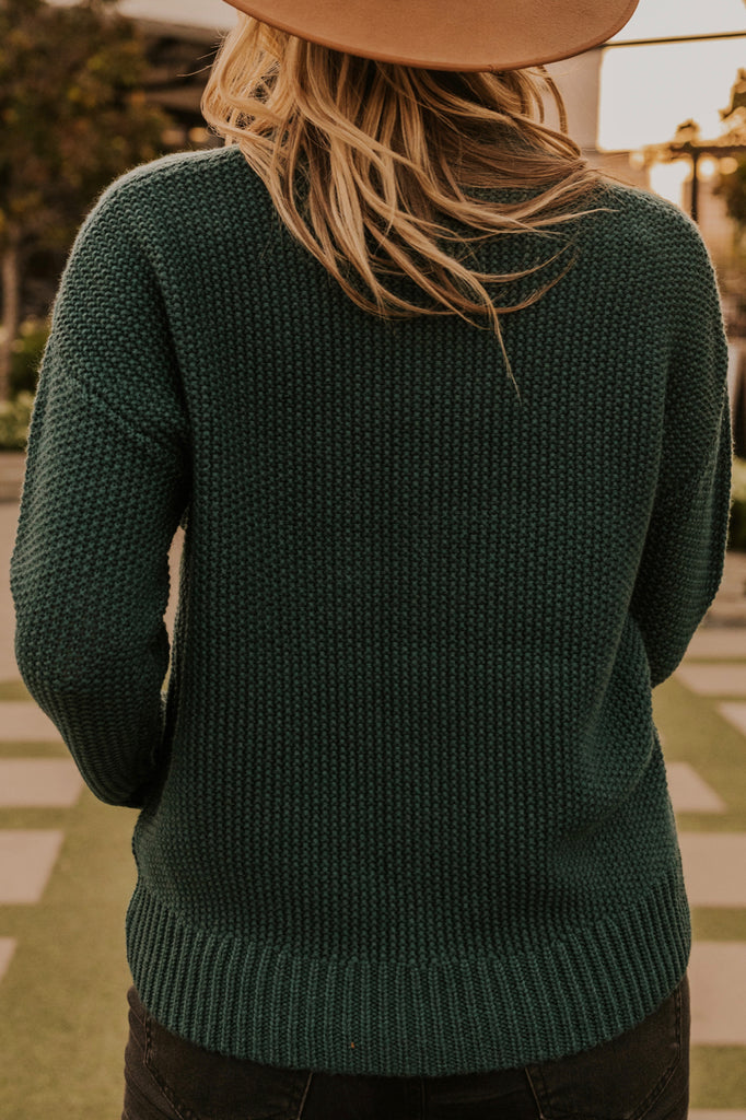 Cozy Long Sleeved Textured Sweater | ROOLEE