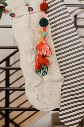 Colorful Woven Stocking | ROOLEE