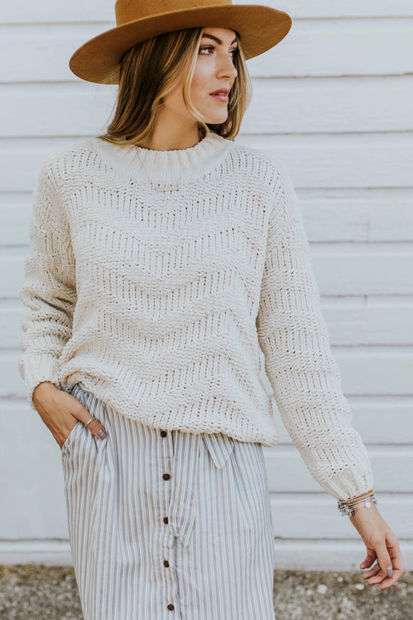 Rainier Knit Sweater | ROOLEE