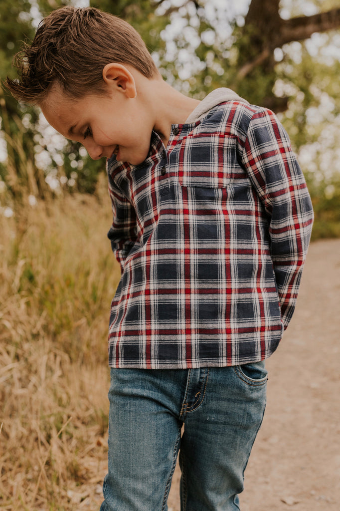 Boys Flannel Top | ROOLEE