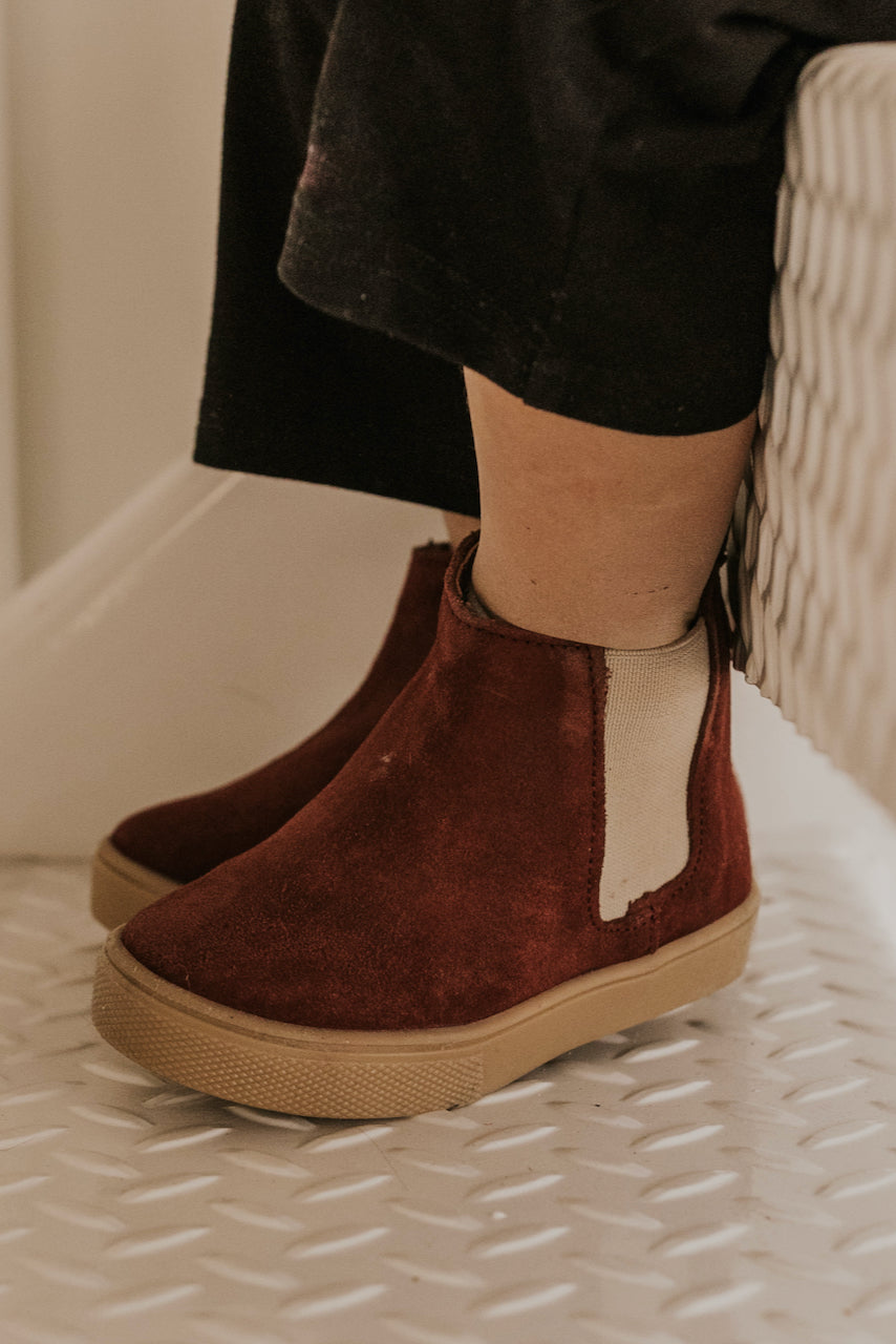 Burgundy Boots | ROOLEE