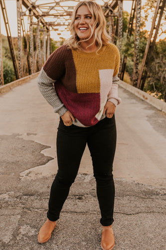 Colorblock Sweater | ROOLEE