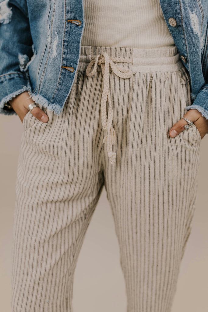Cute Tie Trousers for Women | ROOLEE Bottoms