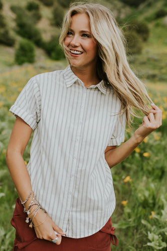 Tacoma Button Top | ROOLEE