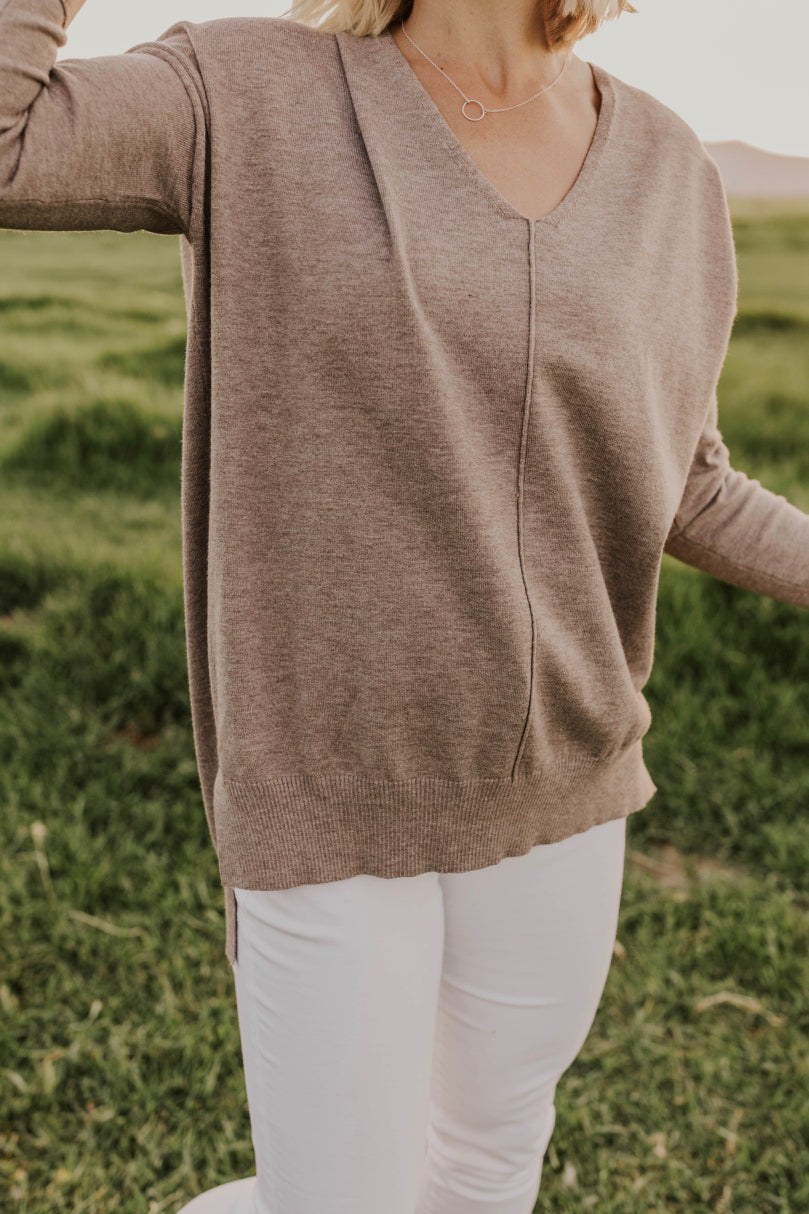 Tan Sweater | ROOLEE