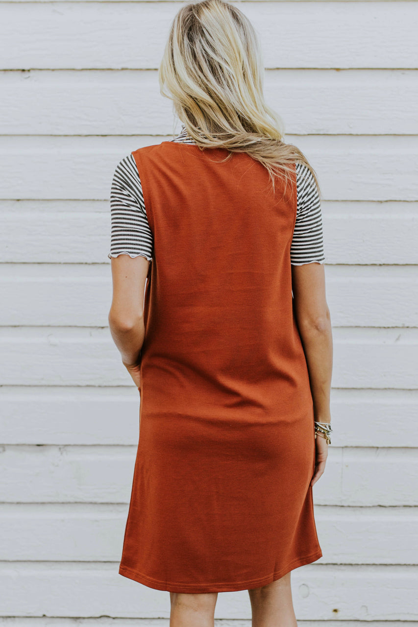 Jumper Dress Outfit | ROOLEE