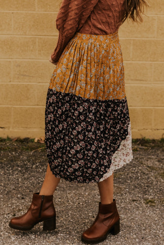 Patchwork Skirt | ROOLEE
