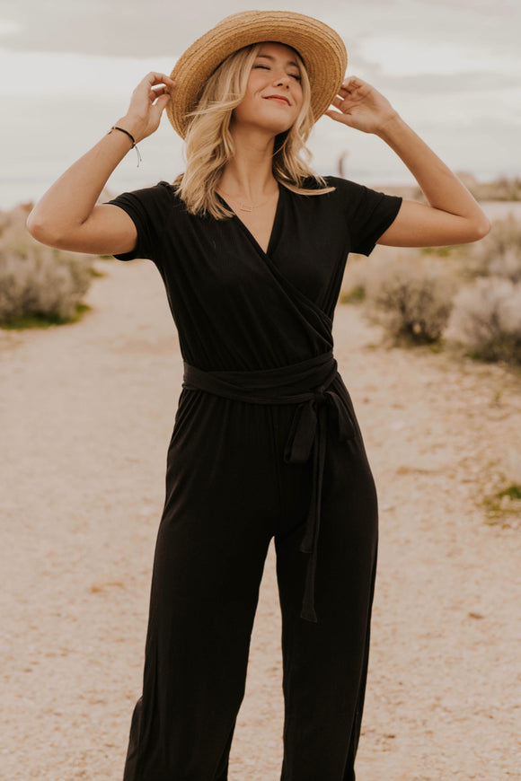 Black Womens Jumpsuit | ROOLEE