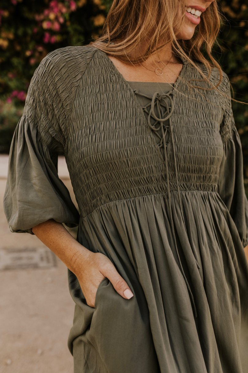 Olive Dress | ROOLEE