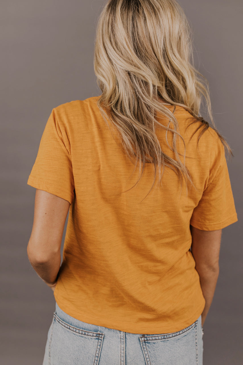 Mustard Top Outfit Ideas | ROOLEE Tops