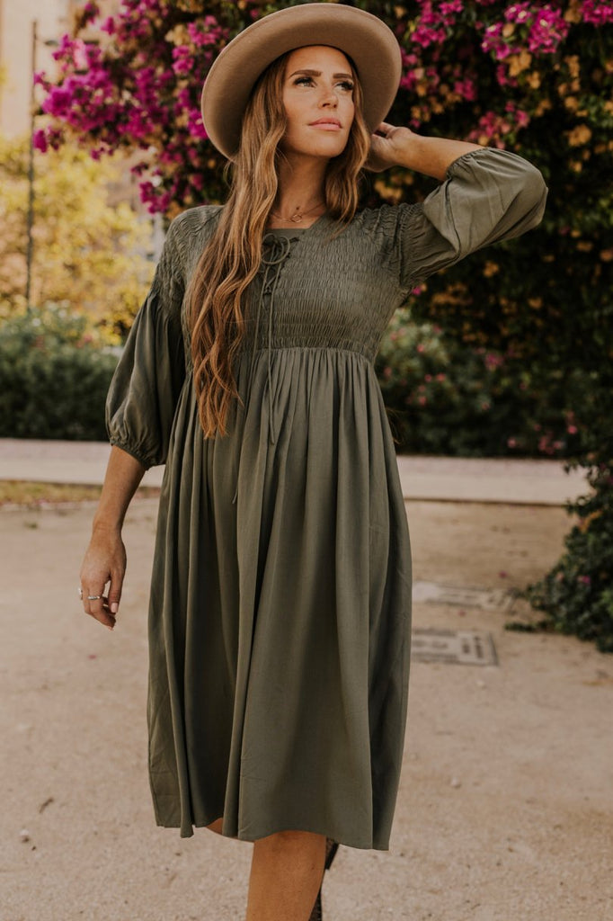 Boho Fall Dress | ROOLEE