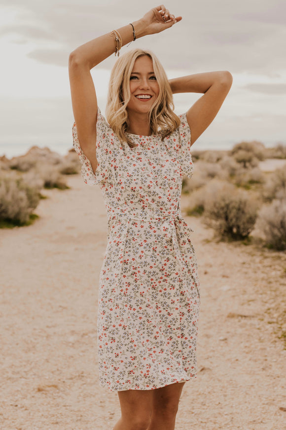 Floral Spring Dress | ROOLEE