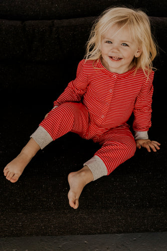 Striped Kids Onesie | ROOLEE