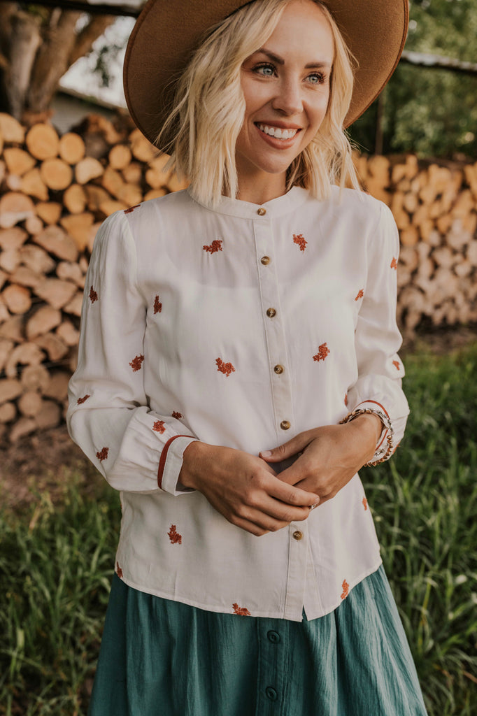 Summer/Fall Long Sleeve Shirts for Women | ROOLEE