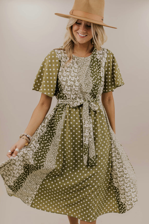 OLive Print Dress | ROOLEE Dresses