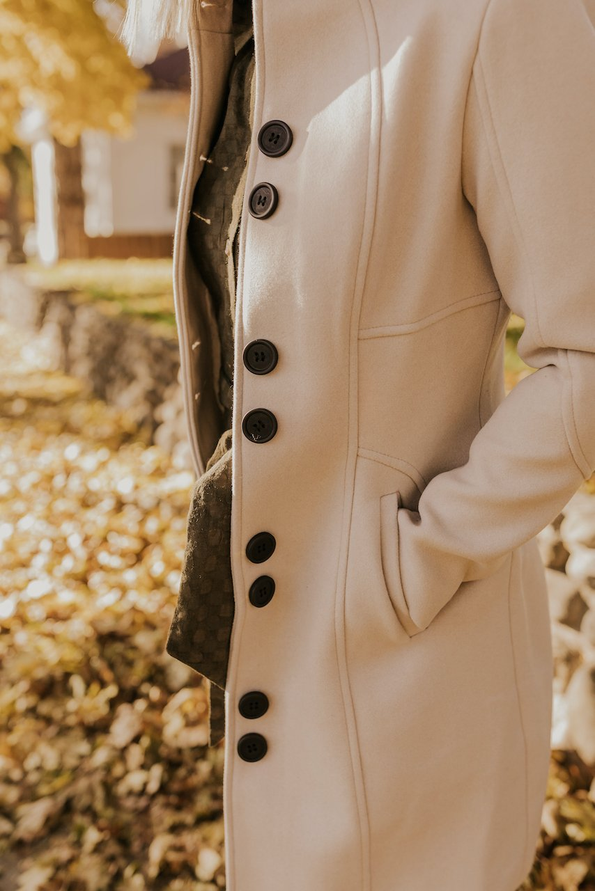 Button Down Coat | ROOLEE