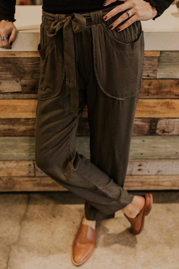 Plymouth Tie Pant | ROOLEE