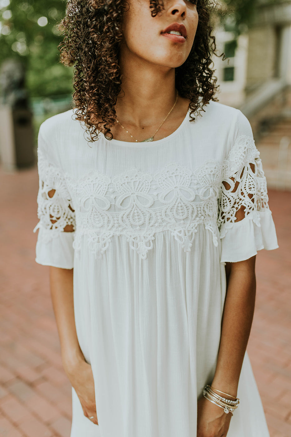 White Amazing lace dresses recommendations to wear for summer in 2019