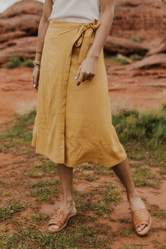 Summer Wrap Dress | ROOLEE