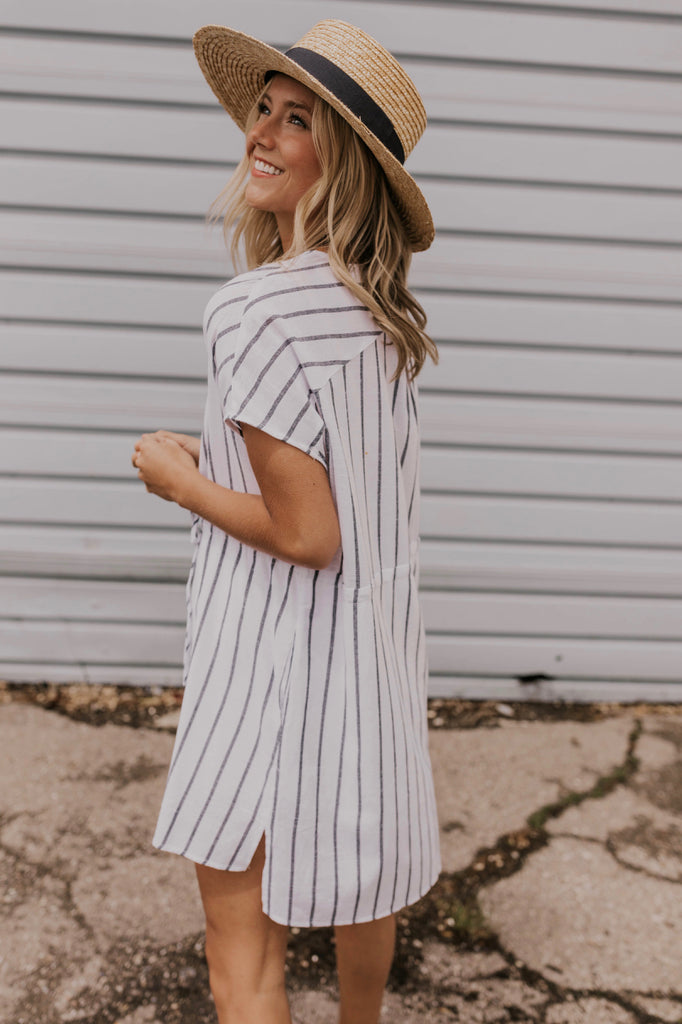 Women's Striped Summer Dress | ROOLEE