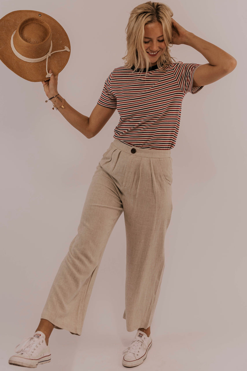 a572637be1 Pleated Wide Leg Pants | ROOLEE Wide Leg Linen Pants | ROOLEE ...