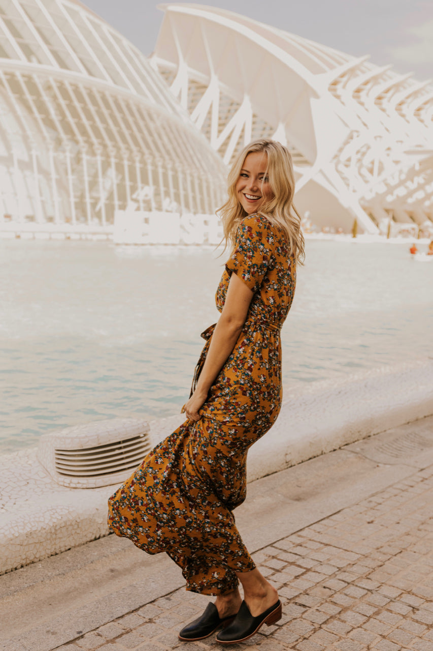 Floral Maxi Dress | ROOLEE