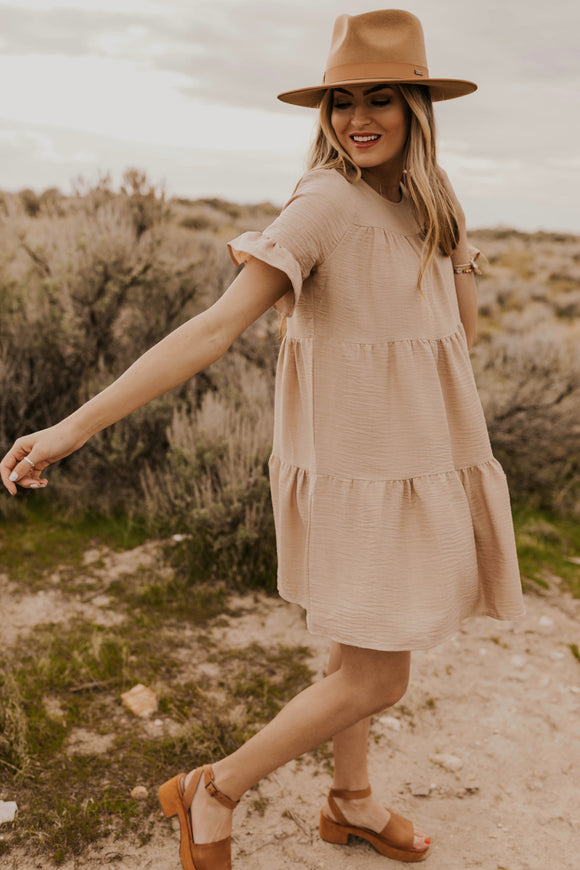 Taupe Dress | ROOLEE