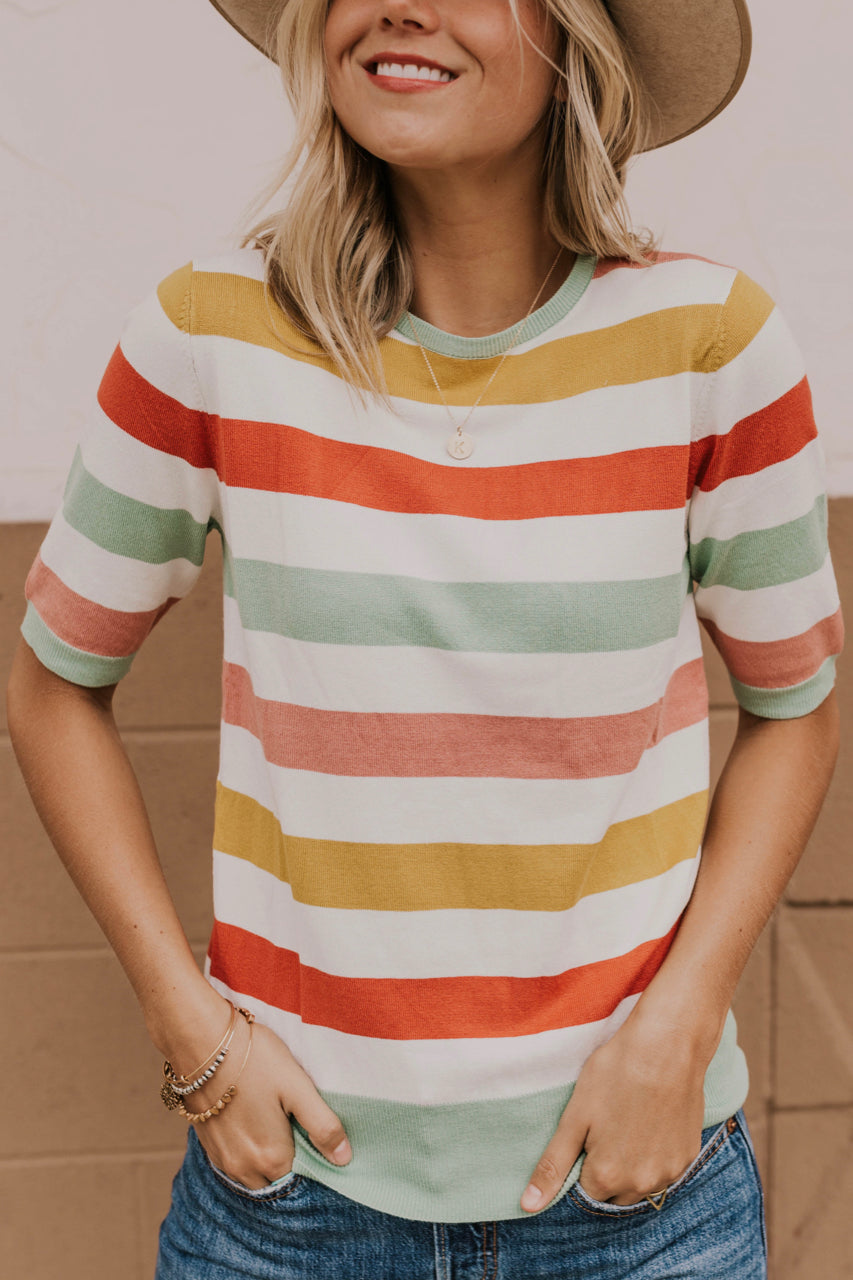 Women's Striped Summer Outfit | ROOLEE