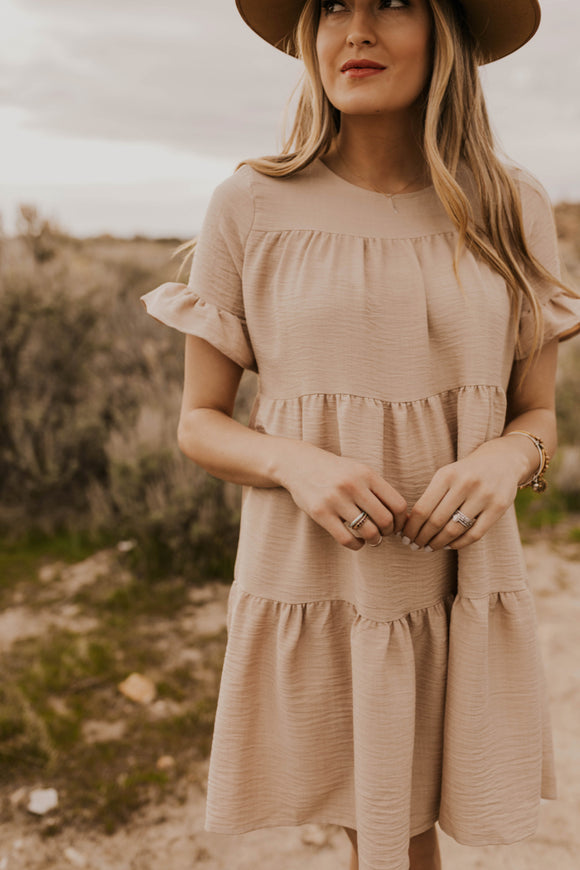 Cute Pleated Dress | ROOLEE