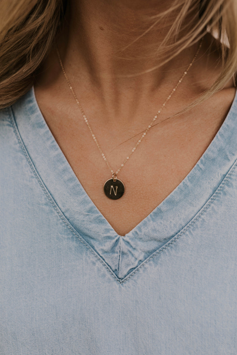 Initial Necklace | ROOLEE