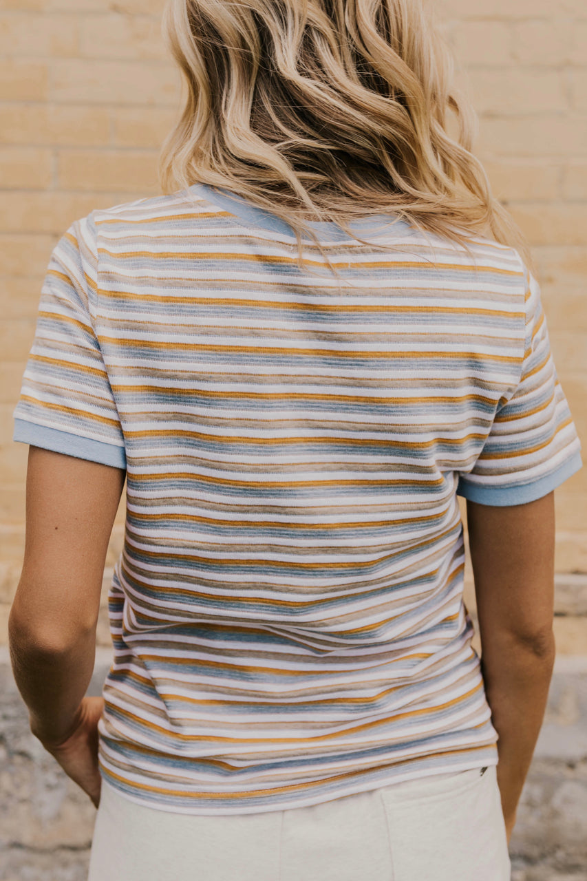 Stripe Tee For Women | ROOLEE