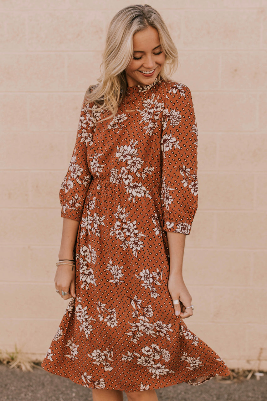 Constance Print Dress | ROOLEE Dresses