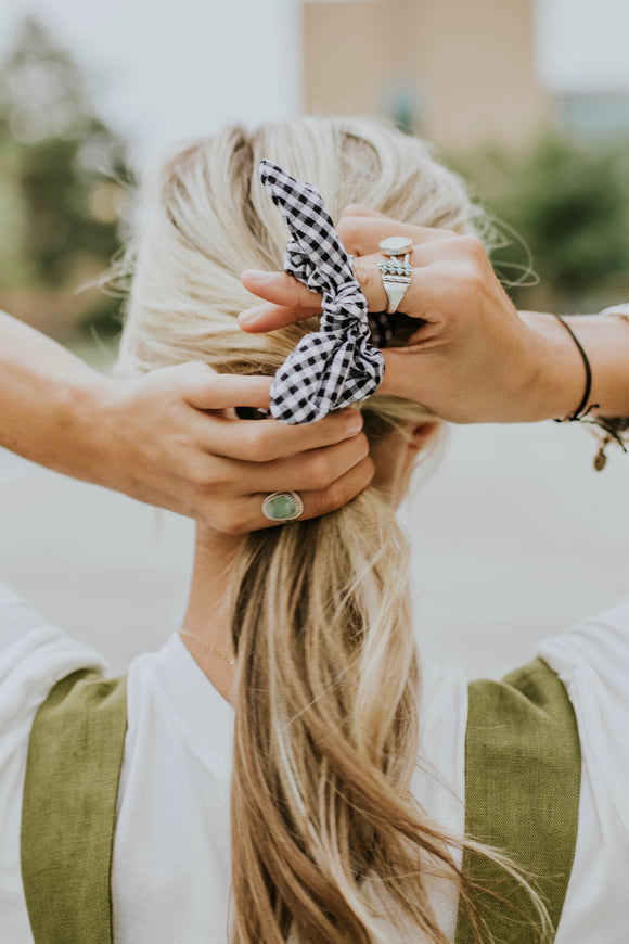 TOSSD Scrunchie in Plaid for Summer | ROOLEE