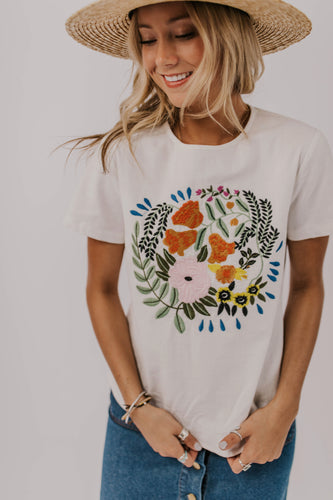 Embroidered Tee | ROOLEE