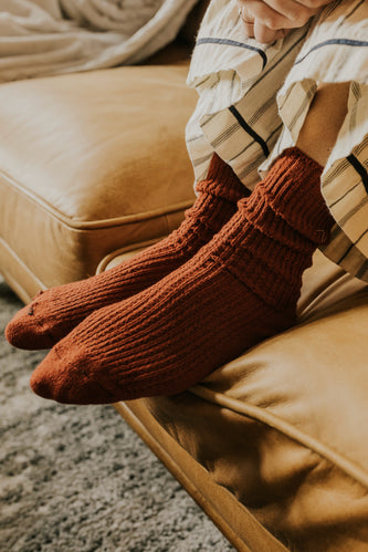 Knitted Crew Socks Free People | ROOLEE