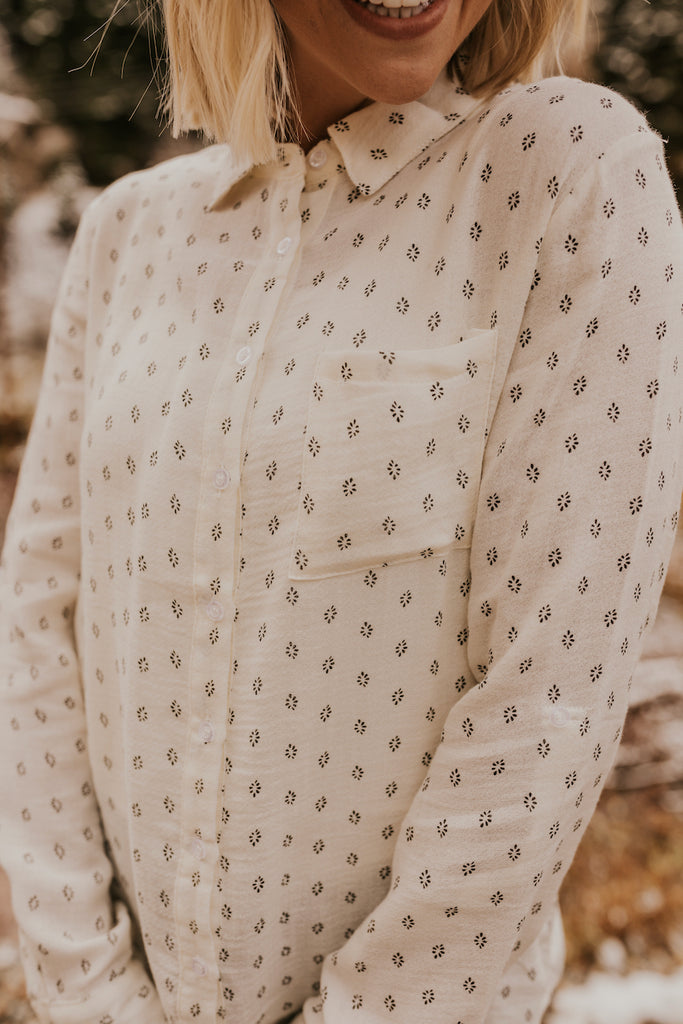 Cute Collared Shirts For Women | ROOLEE