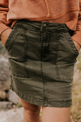 Women's Mini Skirt | ROOLEE