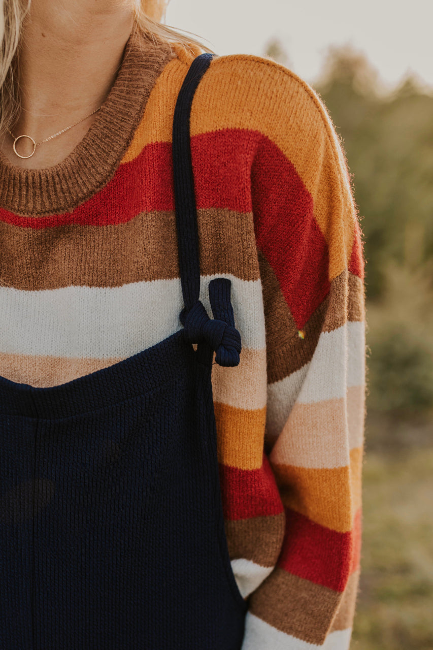 Striped Sweater for Fall | ROOLEE