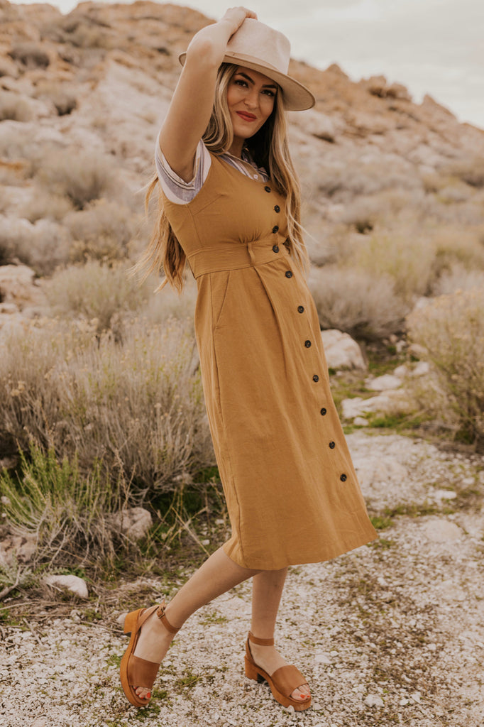 Sleeveless Jumper Dress | ROOLEE