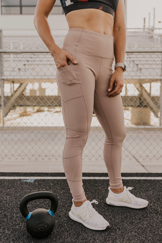 Athletic Pocket Leggings | ROOLEE