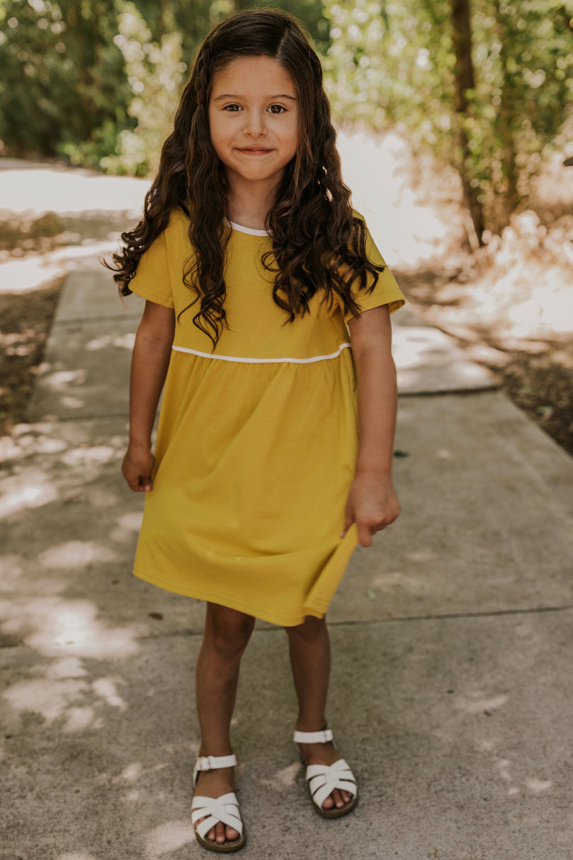 Yellow Summer Dress | ROOLEE