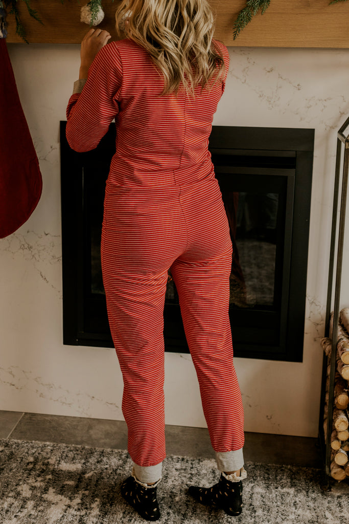 Full Length Womens Red Pajamas | ROOLEE