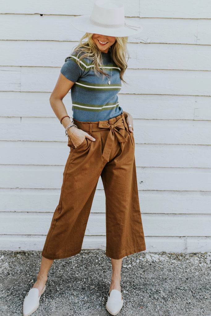 Linen Gaucho Outfits for Fall | ROOLEE