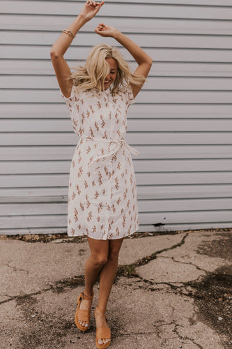 Modest Collared Floral Dress | ROOLEE