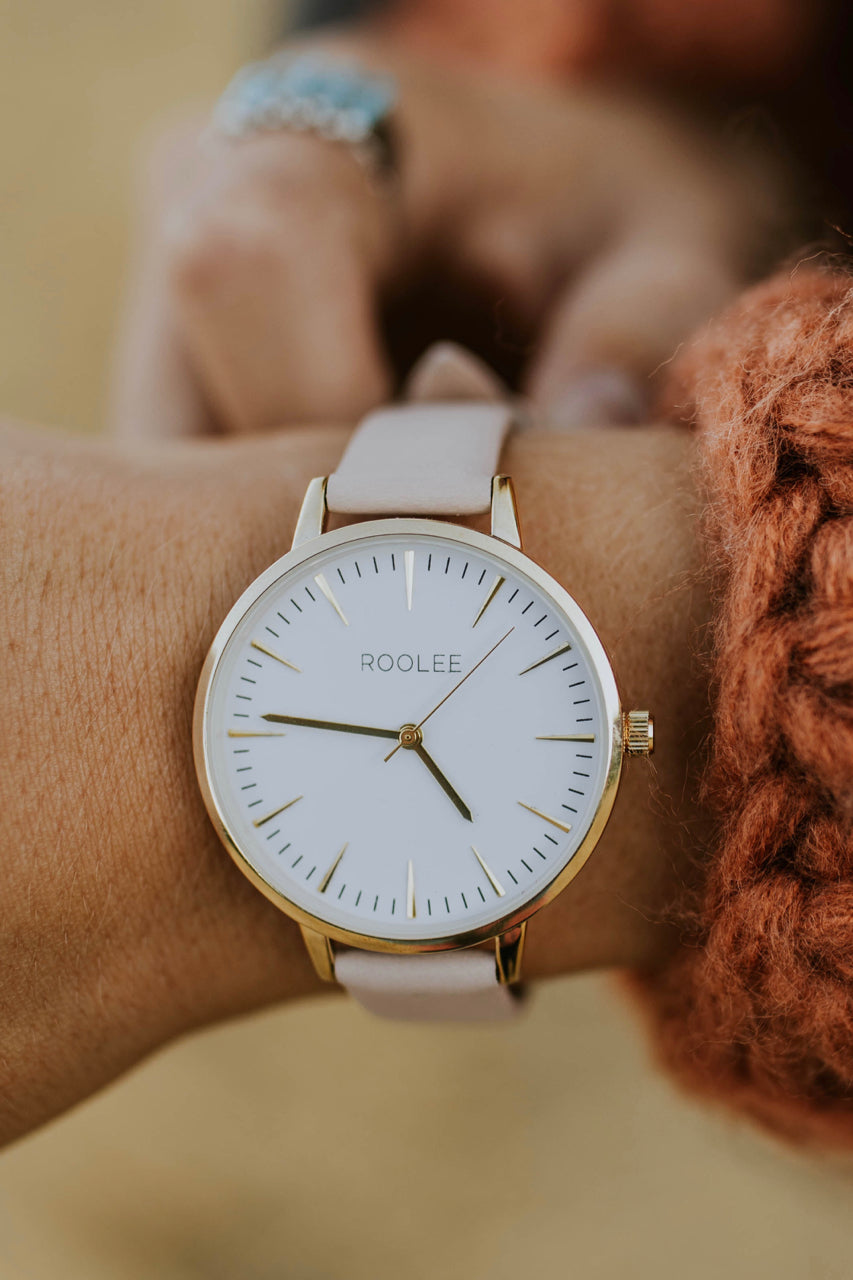 ROOLEE Andover Watch in Blush | ROOLEE Accessories