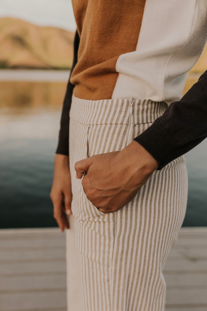 Striped Pocket Pants | ROOLEE
