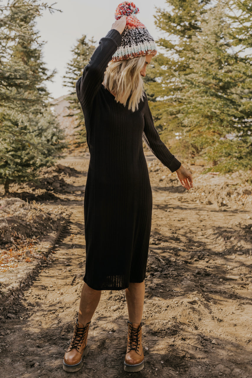 Long Black Dress | ROOLEE