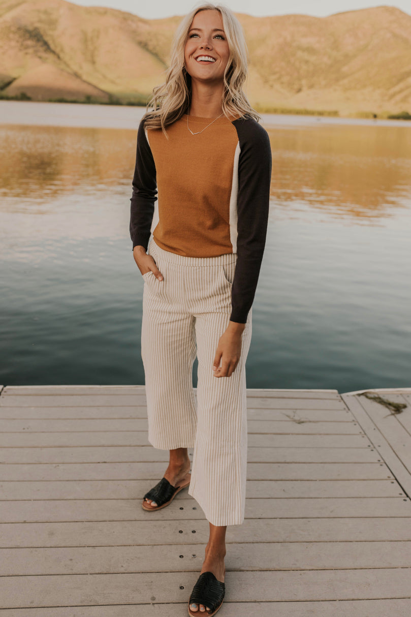 Casual Stripe Pants | ROOLEE